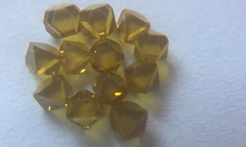 Yellow Synthetic Diamond